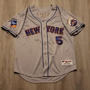 David Wright New York Mets Majestic MLB Jersey 50